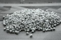 Polypropylene secondary granulated