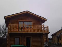 Maisons en bois (murs en plein bois)