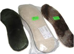 Accessories for footwear, insole fur wholesale,