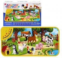 Развивающий коврик Домашние животные (укр)