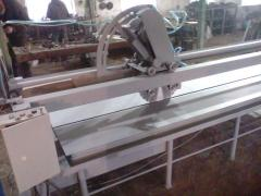 Machines for cutting of marble, granite