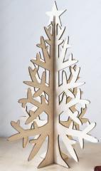 Новогодняя Елка-декор Елка объемная со звездой