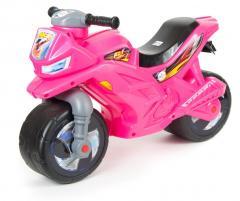Мотоцикл 2х колесный Розовый