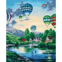 Картина по номерам Воздушные шары 2 КНО2221