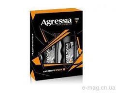 Подарочный набор Agressia Normal (шампунь+гель для