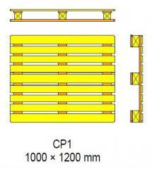 Поддоны Pallets CP1 - 1200x1000x138