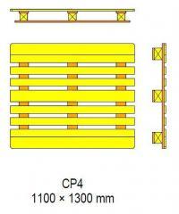 Поддоны Pallets CP4 - 1100x1300