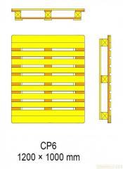 Поддоны Pallets CP6 - 1200 x 1000