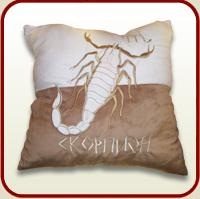 "Throw pillow ""Scorpion"""