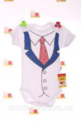 Боди с галстуком белый, код: 27203 или 27211