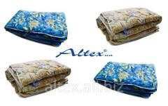 Одеяла различных размеров и цветовой гаммы от