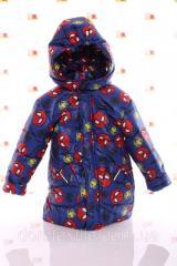 Куртка Евро Spiderman синий