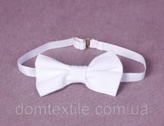 Бабочка галстук детская (белая)