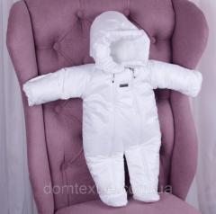 Зимний комбинезон Вьюга (белый)
