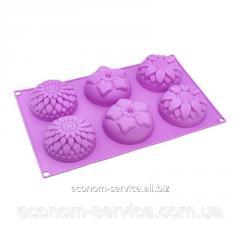 Форма для кексов силиконовая А-Плюс