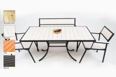 Комплект мебели Бристоль (1+2+1)