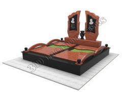 Создание 3D проекта памятника, Создание 3D проекта