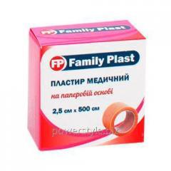 Пластырь медицинский FP Family Plast на нетканой
