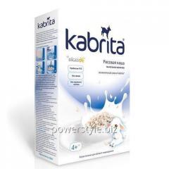 Рисовая каша на козьем молоке TM Кабрита/Kabrita 1