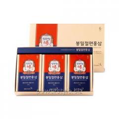 Слайсы красного корейского женьшеня с медом ТМ Корея Женьшень Корпорейшин/Korea Ginseng Corporation 120 г
