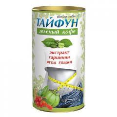 Кофе зеленый Тайфун (экстракт ягоды годжи и