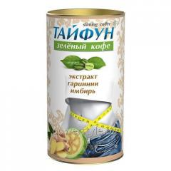 Кофе зеленый Тайфун (экстракт имбиря и гарцинии)