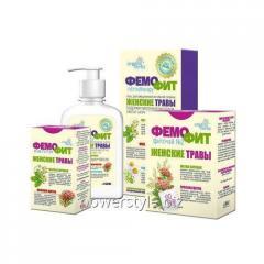 Женский набор Organic Herbs Фемофит 3в1