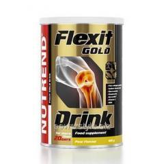 Flexit Drink GOLD апельсин защита суставов ТМ Нутренд / Nutrend 400 мл