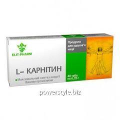 L-Карнитин 0.25 г №40 таблетки