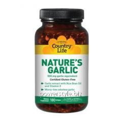 Natures Garlic (Натуральный чеснок) 180 капсул ТМ