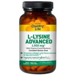 Аминокислота L-лизин Адванс 1,500 мг 180 капсул ТМ