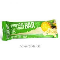 Батончик фруктовый Tropica органический Natur