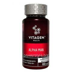 Витаджен №02 Альфа Мен / Vitagen Alpha Man капсулы