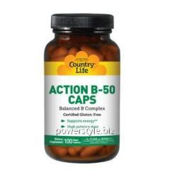 Витаминно-минеральный комплекс Action B-50 100