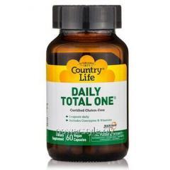 Витаминно-минеральный комплекс Daily Total One для