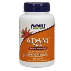 Витаминный комплекс Адам ТМ Нау Фудс/Now Foods 60