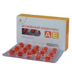Витаминный комплекс АЕ капсулы №30 ТМ Эликсир