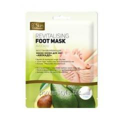 Восстанавливающая маска-носки для ног Авокадо ТМ