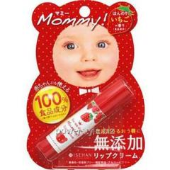 Гигиеническая помада Isehan Mommy Lip Cream S 3,5г. (клубника)
