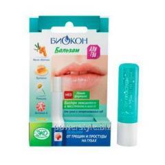 Гигиенический бальзам от трещин на губах ТМ Биокон 4,6 г