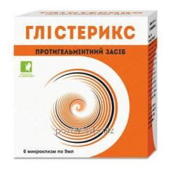 Глистерикс жидкие свечи 9 мл №6