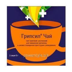 Грипсил чай травяной растворимый 5г саше №5
