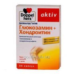 Доппельгерц Актив Глюкозамин+Хондроитин капсулы