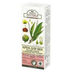 Зеленая Аптека крем для век Против отеков и мешков