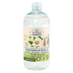 Зеленая Аптека мицеллярная вода 3 в 1 Зеленый чай