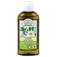 Зеленая Аптека тоник для всех типов кожи Зеленый