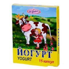 Йогурт капсулы 2 млрд. активных клеток N15