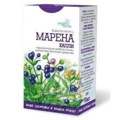 Капли Organic Herbs Марена 50мл