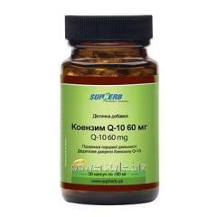 Коензим Q10 60 мг капсулы №30 ТМ Сапхерб / SupHerb