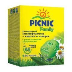 Комплект Пикник Фемили электрофумигатор и жидкость